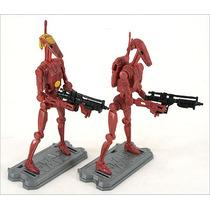 Star Wars, Saga Legends, Battle Droid 2 Pack, Sl20 2010, Hm4