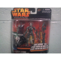 Star Wars Grevious Ataque Con Sables Revenge Of The Sith