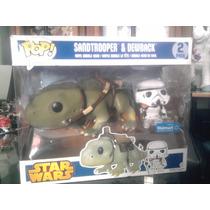 Star Wars Dewback Sandtrooper Funko Pop Exclusivo Walt Mart