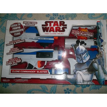Clone Commander Blaster Star Wars Luz Y Sonido Hasbro