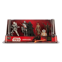 Disney Store Star Wars Episodio 7 Play Set 6 Figuras 2016
