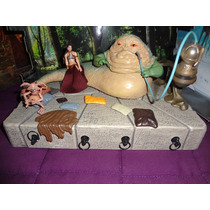 Star Wars Trono De Jabba 2010 Con Leia Slave