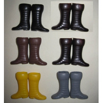 Botas Mego Ironman, Star Wars Lili Ledy, Barbie 5 Paresx$150