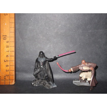Figura De Star Wars Darth Vader Y Mace Windu, Hasbro 2006