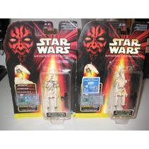 Star Wars - 2 Figuras De Super Battle Droid Episodio I