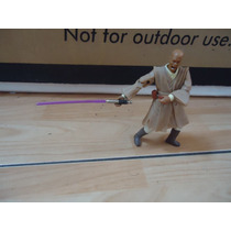 The Star Wars Mace Windu Jedi Master Figura By Hasbro