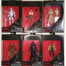 Black Series Walmart 3.75 Rey Kylo Ren Stormtrooper Finn
