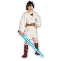 Traje Medio Infantil Star Wars Obi-wan Kenobi Halloween (8-1
