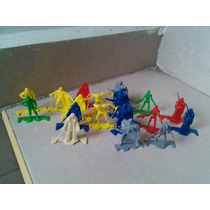 Lote Figuras Starwars De Plastico Jedis Grevious Magnaguard