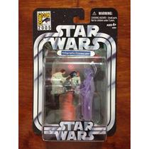 Figura Star Wars Princesa Leia Holograma Sdcc 2005