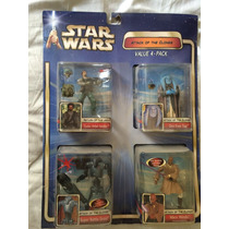Star Wars Attack Of The Clones Value 4 Pack