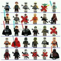 Star Wars 6 Personajes Con Accesorios, Compatibles Con Lego