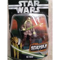 Figura De Acción Kit Fisto Star Wars
