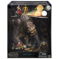 Sdcc 2015 Set Star Wars The Black Series Jabba`s Rancor Pit