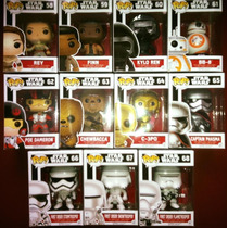Funko Star Wars Episodio 7 Vii Coleccion Completa Bb-8 Kylo