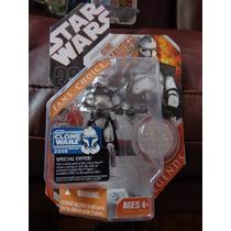 Clon Commander Fans Choice Star Wars Con Moneda Trabucle