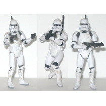 3 Clone Troopers Loose Ideal Para Tropas 10cm