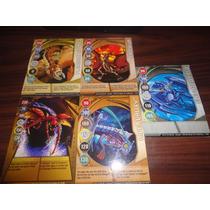 Lote #23 Tarjetas Bakugan Magneticas