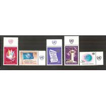 1969 Naciones Unidas 5 Sellos Nuevos Diferentes Onu Mint Nh