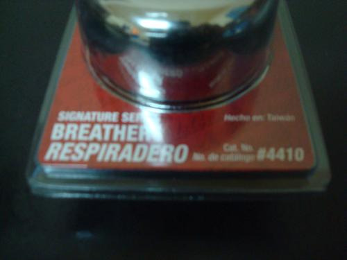 Filtro Respiradero Edelbrock #4410 Para Tapas De Punterias