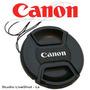 Tapa Delantera Para Lentes Canon 52mm - Liveshot