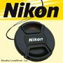 Tapa Delantera Para Lentes Nikon 52mm