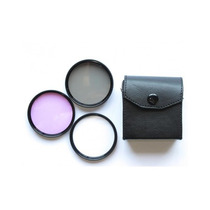 Kit Filtros Uv Cpl Fld 82mm Nikon Canon Sonny Pentax 82 Mm