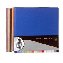 24 Filtros Gel Lee 25x30cm Ctb Cto Azul Congo Orange Red Nd