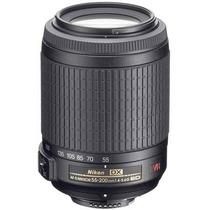 Lente Nikon 55-200mm F/4-5.6g Ed If Af-s Dx Vr