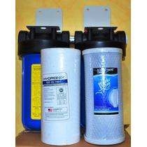 Filtros De Agua 2 Etapas 4x10 Pulgadas