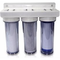 Purificador De Agua, 2.5x10 , Sedimentos Y Carbon Activado