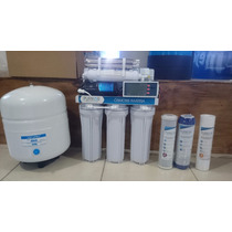 Osmosis Inversa 6 Etapas Bomba Uv Y Tanque 100gp Medidor Ppm