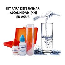Kit Test Determina Alcalinidad Filtro Agua Alcalina Albercas