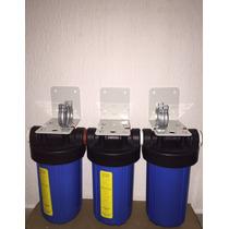 Filtro De Agua 3 Etapas 30 Litros Por Minuto