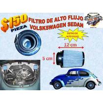 Filtro De Alto Flujo Volkswagen Sedan Vocho