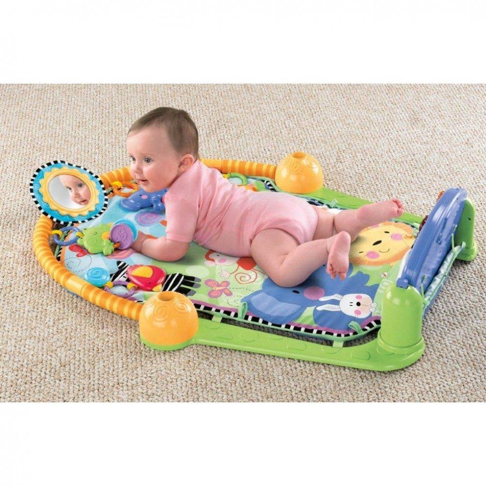 Fisher price gimnacio para bebes modelo piano hm4 for Espejo retrovisor bebe fisher price