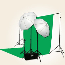 Estudio Studio Kit Profesional Video Fotografia Iluminacion