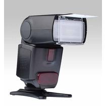 Flash Ttl P Canon Ettl Autom Super Precio Envio Gratis Mn4