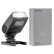 Flash Meike Mk320 Ttl Lcd Display P/ Camaras Sony A3000 A58