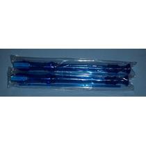 Flauta Color Azul Tansparente