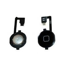 Boton Home Con Flex Para Iphone 4 Y 4s Color Blanco Y Negro
