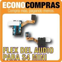 Flex De Audio Para Samsung Galaxy S4 Mini 100% Nuevo!!!!!!!!