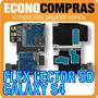 Flex Lector De Memoria Sd Para Samsung Galaxy S4 100% Nueva!