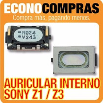 Auricular Internno Para Sony Xperia Z1/z3 100% Nuevo!!!!!!!!