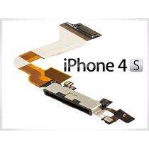 Flex Centro De Carga Conector+herramienta Original Iphone 4s