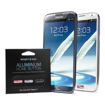 Botones Aluminio (home) Galaxy Note 2 / 3 Marca Spigen Sgp