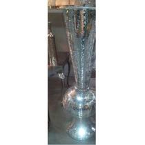 Floreros Tipo Copa Forrado De Cristales