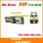 Foco Bulbo Led Cree Xbd 9w Canbus T10 Pellisco