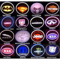 Proyector De Logo Luz Led De Cortesía Puerta Auto Hm4