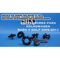 2x Aptador Para Foco Hid H7 Volkswagen Bora Golf Mk5